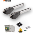 Kit automatizare poarta batanta, Roger Technology R20/320, 3 m/canat, 230 V
