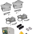 Kit automatizare poarta batanta var.ingropata, Roger Technology R21/351, 3.5m/canat, 230 V