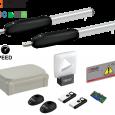 Kit automatizare poarta batanta,RAPIDA, Roger Technology SMARTY 4M  BRUSHLESS 36V